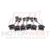 Ev1 Female To Honda Obd2 Male Fuel Injector Connector Adapters 6 Pack