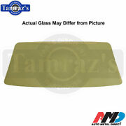 62-67 Chevy Ii / Nova Hardtop And Convertible Front Windshield Glass Clear - Amd