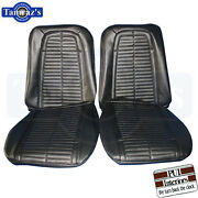 1967-1968 Firebird Front And Rear Seat Covers Upholstery Pui New