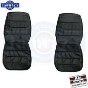 1968 Charger / R/t Front And Rear Seat Covers Upholstery Pui
