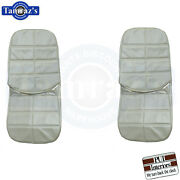 1971 Grand Prix Front And Rear Seat Covers Upholstery New Pui