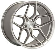 22andrdquo Rohana Rfx11 Brushed Titanium Wheels For Mercedes W221 Cl550 Cl63 W222 S550