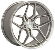 22andrdquo Rohana Rfx11 Brushed Titanium Wheels For Range Rover Hse Sport Supercharged