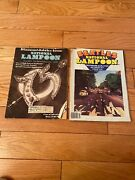National Lampoons Magazines Lot Of 2 The Beatles Diamond Jubilee Issue