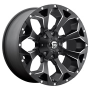 18x9 Fuel D546 Assault 34 Nitto Wheel And Tire Package 8x6.5 Chevy Silverado Tpms