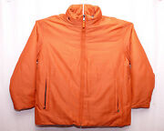 Marc New York Andrew Marc Menand039s Orange Duck Down Coat Jacket Parka Msrp 375