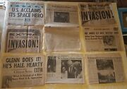 Lot Of 1944-1963 Vintage Collectible Newspapers