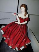 Royal Doulton Pretty Ladies With All My Love Hn 5420 Hand Signed By Artist