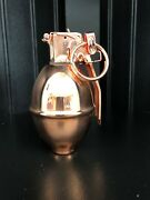 Replica Copper Plated Baseball Grenade W/spring Kit And Canister Free Shipping