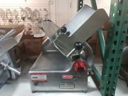 Berkel 818 Commercial 2-speed Automatic Or Manual Gravity Feed Slicer