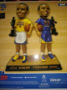 Golden State Warriors Stephen Curry 2x Nba Mvp Bobblehead Forever Collectibles