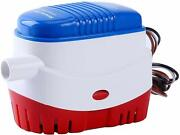 Automatic Submersible Boat Bilge Water Pump 12v 750gph W/ Built-in Float Switch