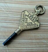 Advertising Pocket Watch Key - Dysons Leeds Yorkshire - No Number