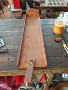 Antique 1920s Wooden Arcade Freeport Illinois Bowling Game