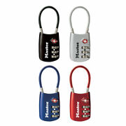 Master Lock Luggage Cable Lock 4688d