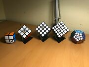 Hot Rubikand039s Cube Collection 2x2 3x3 4x4 5x5 Megaminx Vcube Official Rubiks