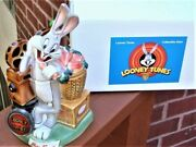 Mib Looney Tunes Bugs Bunny Beer Stein - 1st In Series Mint Box And Lapel-hat Pin
