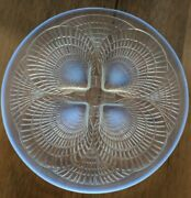 Rene Lalique Opalescent Coquilles Side Plate No 3012 1920s Deco - 6 Available