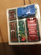 Multiple Toymakers 1973 No 824 Andldquo Jeep With Driver And Fence And Farm Animalsandrdquo