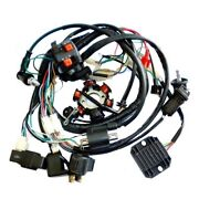 150-250cc Full Electric Coil Solenoid Start Engine Wireing Harness For Atv Quad