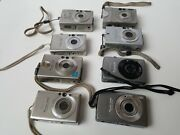 Lot Of 8 Canon Powershot Cameras Sd 600 S200 Sd750 S500 S230 S100 Make Offer