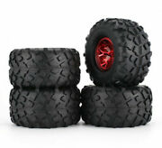 1/10 Rc Monster Truck Wheels And Tires For Axial Smt10 Grave Digger Monster Jam