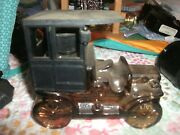 Avon Old Car Model T Vintage Collectible Decanter Empty Bottle Oland Aftershave