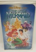 Original Banned Cover Art The Little Mermaid Disney Vhs - Rare Discontinued