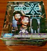 1996 Topps The Xfiles Series One Box Merlin 36 Packs The Truth Is Out There