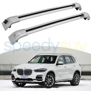 Us Stock For Bmw X5 G05 2019-2021 Silver Lockable Cross Bars Roof Rack Rails
