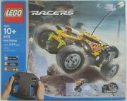 Lego Radio Control - Drome Racers - Hot Flame Rc Car 8376 100 Complete
