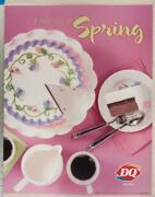 Dairy Queen Poster A Sure Sign Of Spring Frozen Cakes 22x28 Dq2