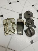 Primitive Antique Cookie Cutters And Scoop Donut Circle Boy