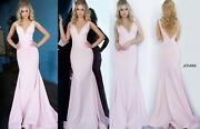 Jovani 02132 Authentic Dress. Newest Collection Free Ups/fedex. Best Price