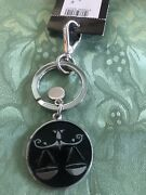 Emporio Armani Libra Keychain, Authentic, New W/ Tags See Pics Great 🎁
