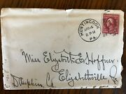 Us Letter With 2 Cents Washington Red Stamp.......rare Antique