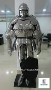 Medieval Suit Of Armor Gothic Larp Sca German Full Body Armour Greek Costume