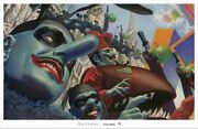 Beatles - Yellow Submarine Limited Edition Of 750 Blue Meanies By Alex Ross