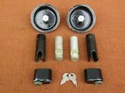 33 1933 Chevy 34 Chevrolet Nors Side Mount Spare Tire Wheel Lock Assemblies