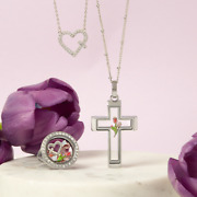 Origami Owl 2020 Easter Spring Lockets Necklaces Free Shipping Buy 4+ Free Charm