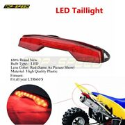Red Led Taillight Lamp Atv Brake Stop Light Assembly For Suzuki Ltr450 All Years