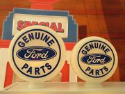 Ford Genuine Parts Style Gasoline Gas Pump Globes Selection Petrol Pump Globe