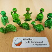 Top Kinder Surprise Set - Tapsy Turtles From 1987 - Great Condition
