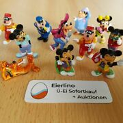 Top Kinder Surprise Set - Disneys Mickey And His Friends - Micky Minnie Mouse