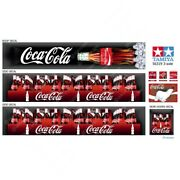 56319 Tamiya 14th Scale Reefer Box Trailer Coca-cola Boxes Decals With Roof Set
