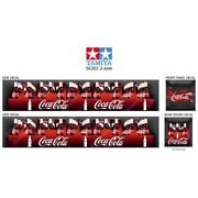 56302 Tamiya 14th Scale Reefer Box Trailer Coca-cola Boxes Decals Stickers Set