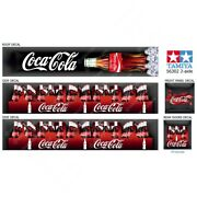 Tamiya 14th Scale 56302 Reefer Box Trailer Boxes Coca-cola Roof Decals 2-axle