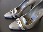 Heels. Womens Designer Shoes Size 9. Made In Italy. 4 High Heel.
