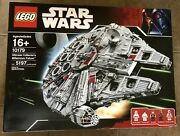 Lego Ucs Millennium Falcon 10179 - New In Shipping Box Retired Ultimate
