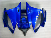 Front Head Cover Nose Blue Injection Mold Fairings For Yamaha Yzf R6 2006 2007